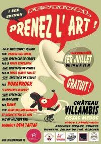 Festival Prenez l'Art - 1ère Edition