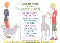 Journée Portes Ouvertes Education Canine Julienoise