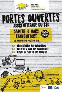 Portes Ouvertes BTP CFA Gironde