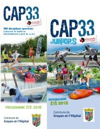 CAP 33 / CAP 33 Junior Grayan-et-l'Hôpital 2018