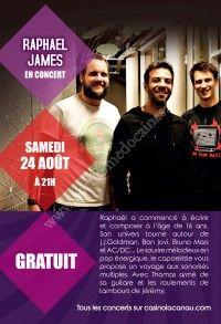 Concert Raphael James