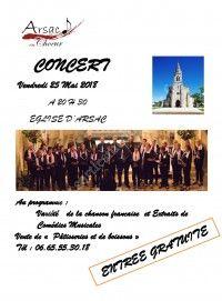 Concert Arsac en Choeur