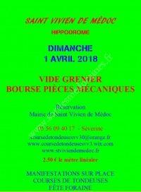 VIDE GRENIER - BOURSE MECANIQUE