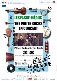 Fête de la Musique 2017 : The White Socks