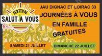 Journées Familles du Festival Salut à Vous