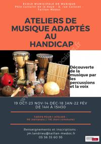 Ateliers de Musique Adaptés au Handicap