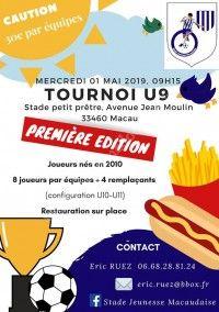 Tournoi U9, Première édition !