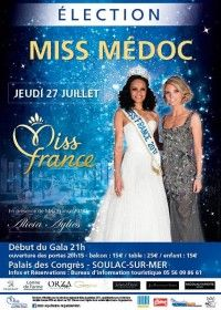 Election Miss Médoc 2017