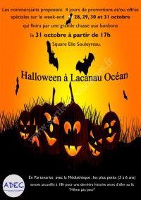 Halloween à Lacanau Océan