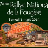 7ème Rallye National de la Fougère 2014 - Samedi