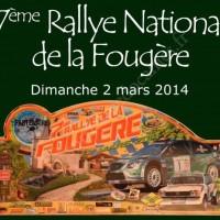 7ème Rallye National de la Fougère 2014 - Dimanche