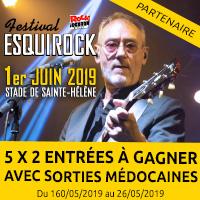 Festival Esquirock 2019 : Gagne tes entrées avec Sorties Médocaines