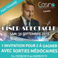 Casino de Lacanau : Gagne ta soirée magique avec Sorties Médocaines