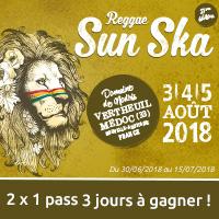 Reggae Sun Ska Festival 2018 : Gagne ton pass 3 jours avec Sorties Médocaines