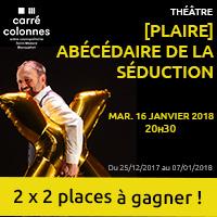 Théâtre : Gagne tes entrées pour l'Abécédaire de la séduction à Blanquefort