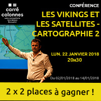 Conférence : Gagne tes entrées pour Les Vikings et les satellites, Cartographie 2 à Blanquefort