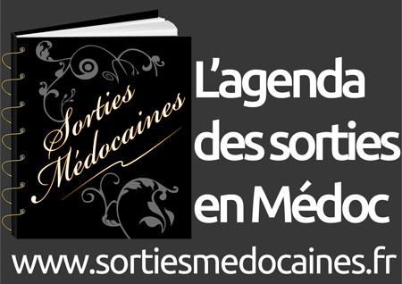 Logo Sorties Médocaines - Logo Gris